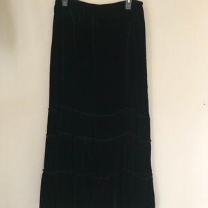 CHICOS Women's Skirt Size 3 (XL/16) Silk Blend
